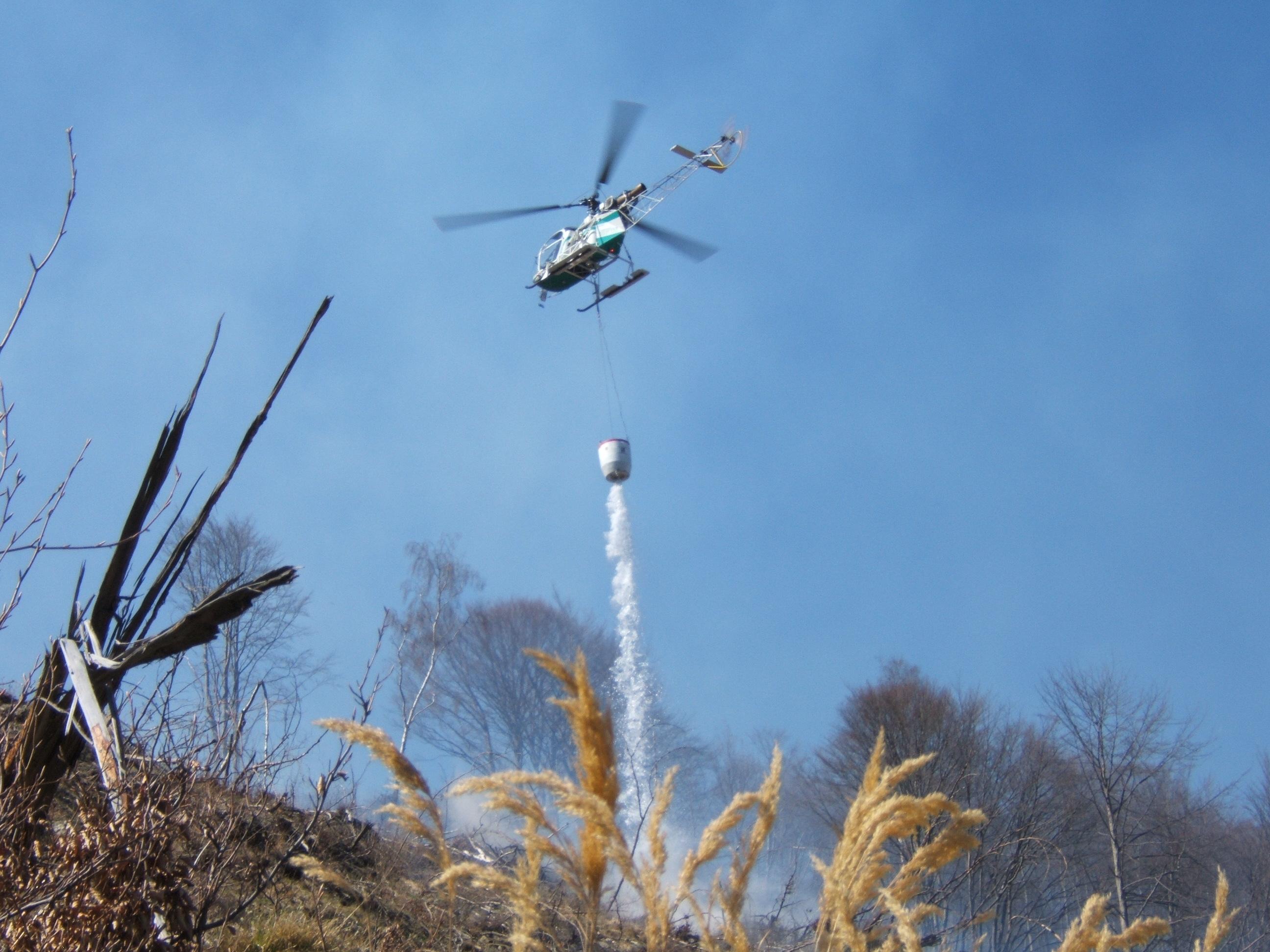 Decreto Massima Pericolosità incendi boschivi