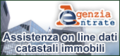 Assistenza on line dati catastali immobili