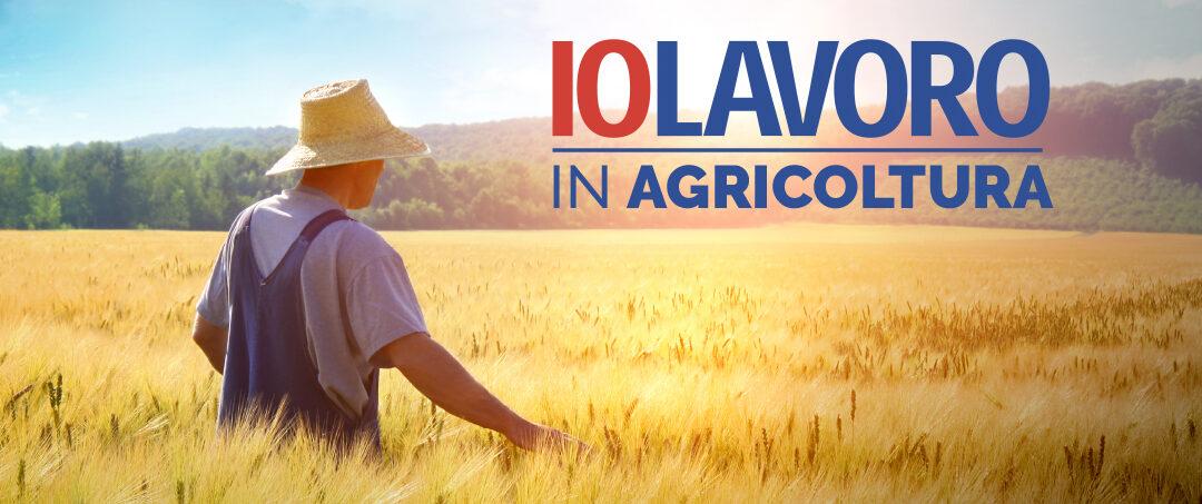 """""""IO LAVORO"""": RICERCA PERSONE PER LAVORI STAGIONALI URGENTI IN AGRICOLTURA"""